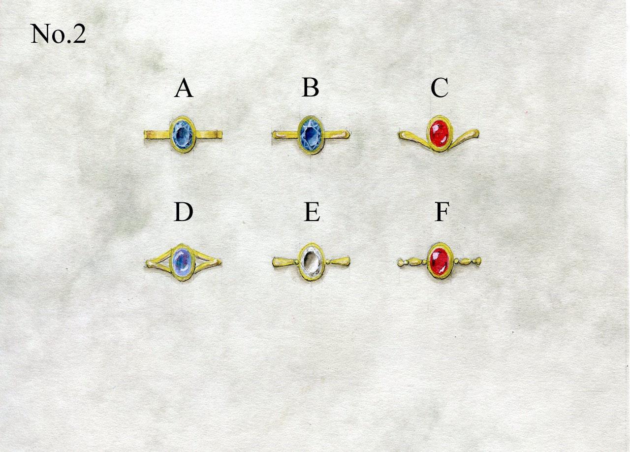 シンプルリングデザイン図2