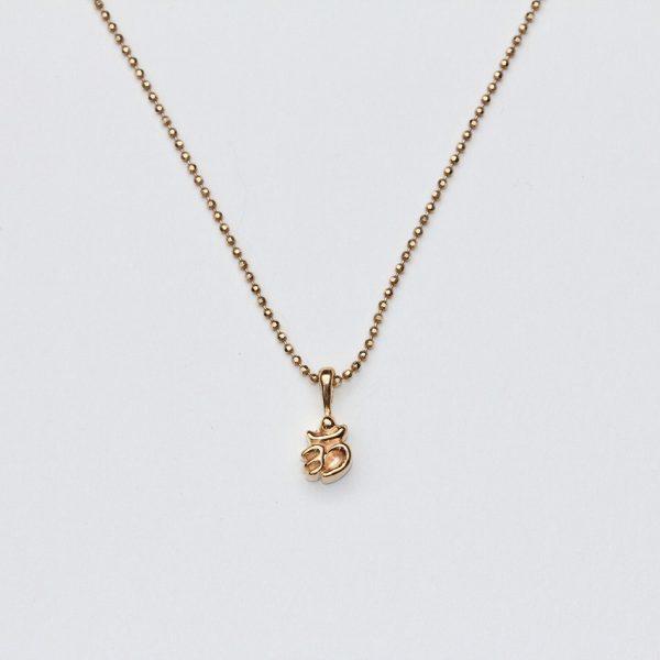 マントラジュエリー・OMのネックレス